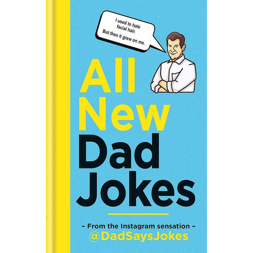 All New Dad Jokes: The perfect gift from the Instagram sensation @DadSaysJokes - The Book Bundle