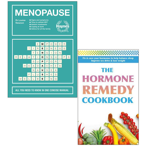 Menopause Louise Newson [Hardcover], The Hormone Remedy Cookbook 2 Books Collection Set - The Book Bundle