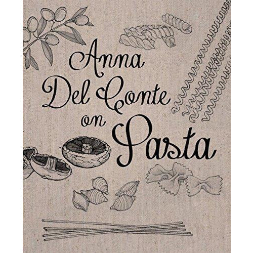 Anna Del Conte on Pasta and Gastronomy of Italy 2 Books Collection Set With Gift Journal - The Book Bundle