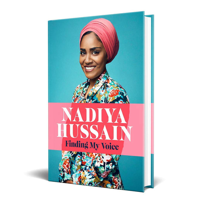 Finding My Voice & Nadiya's Bake Me a Story World Book Day By Nadiya Hussain 2 Books Collection Set - The Book Bundle