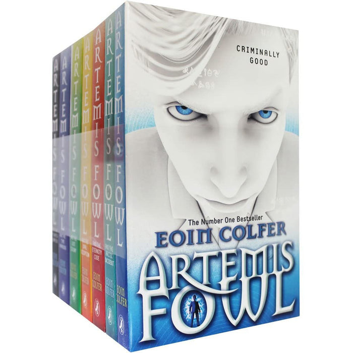 Artemis Fowl Collection Eoin Colfer 7 Books Set - The Book Bundle