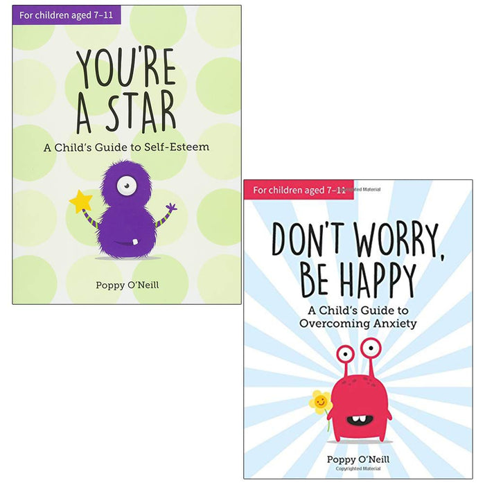 Poppy O'Neill 2 Books Collection Set (You're a Star, Don't Worry Be Happy) - The Book Bundle