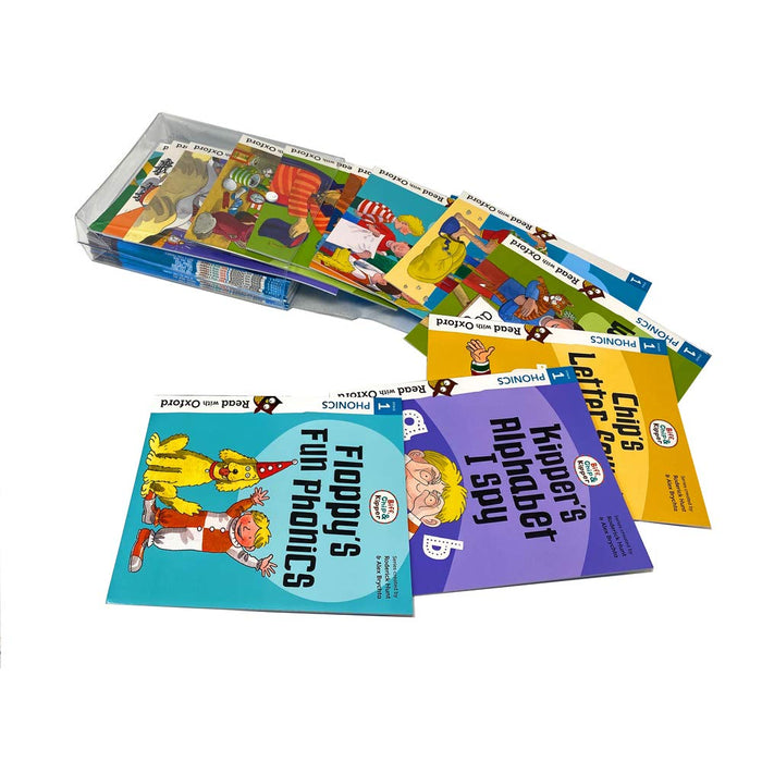 Biff, Chip and Kipper, Level Stage 1, Very First Reading with Oxford 24 Books Collection Set - The Book Bundle