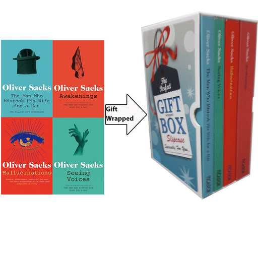 Oliver Sacks Collection 4 Books Bundle Gift Wrapped Slipcase Specially For You - The Book Bundle