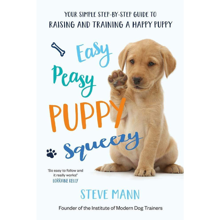 Easy Peasy Puppy Squeezy, The Perfect Puppy, Brain Teasers for Dogs, How to Have a Happy Dog, You and Your Border Terrier 5 Books Collection Set - The Book Bundle