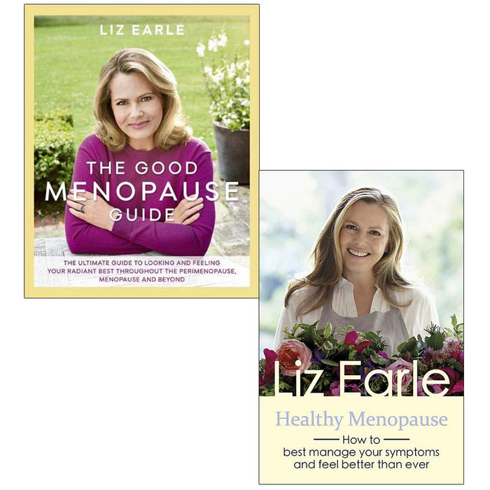 Liz Earle Collection 2 Books Set (The Good Menopause Guide [Hardcover], Healthy Menopause) - The Book Bundle
