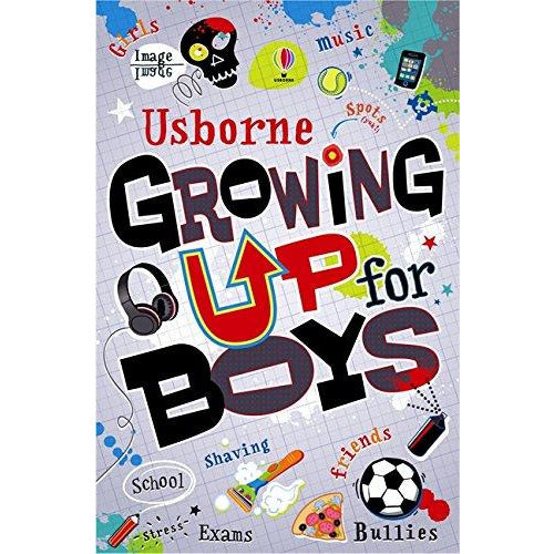 Usborne  Growing Up for Boys Paperback - The Book Bundle