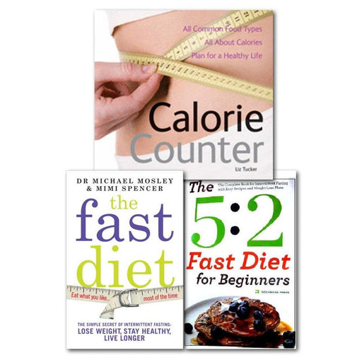 Fast Diet Collection Books With Calorie Counter Books, - The Book Bundle