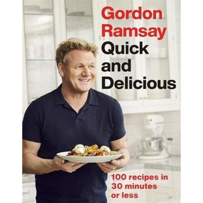 Gordon Ramsay Collection 2 Books Set (Ultimate Home Cooking, Quick & Delicious) - The Book Bundle