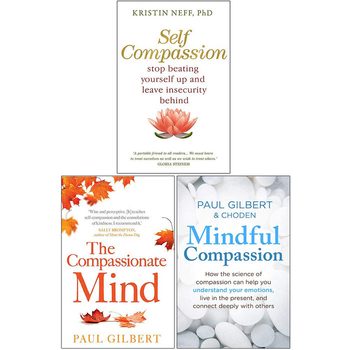Mindful Compassion, Self Compassion, The Compassionate Mind 3 Books Collection Set - The Book Bundle