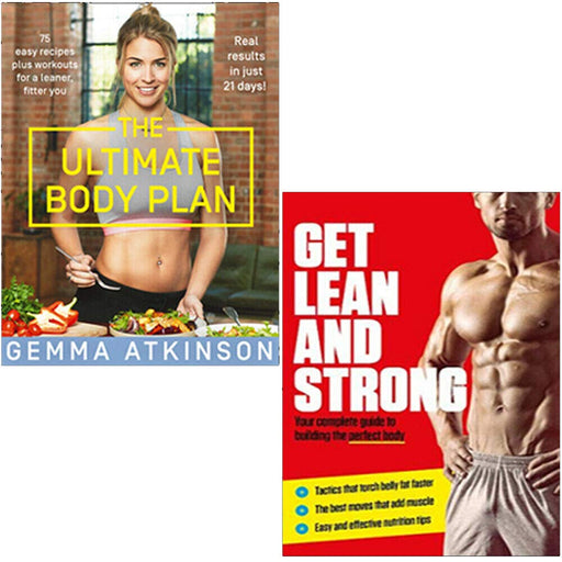 The Ultimate Body Plan, Get Lean And Strong 2 Books Collection Set - The Book Bundle