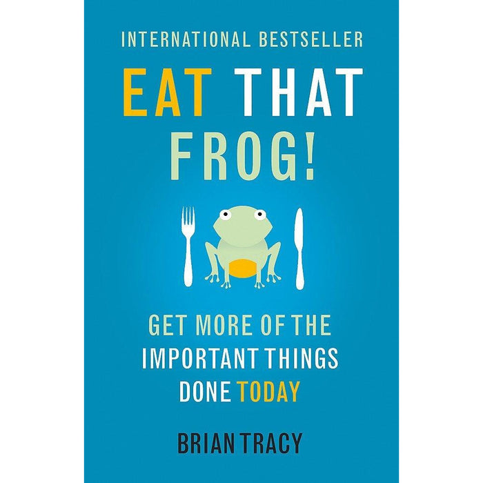 Never Split the Difference, Shoe Dog, 10% Happier, You Are a Badass, Life Leverage, Eat That Frog 6 Books Collection Set - The Book Bundle