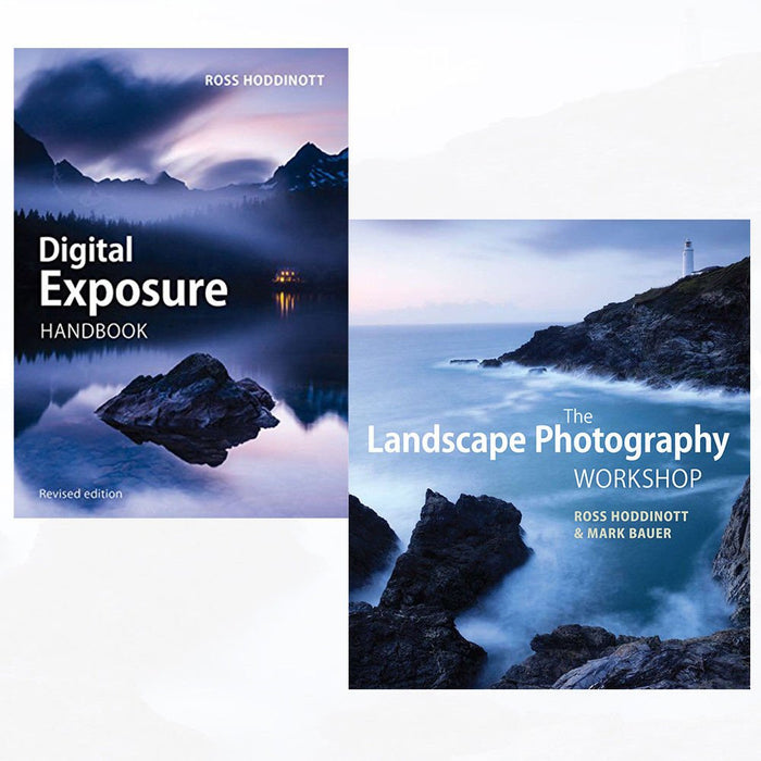 Digital Exposure Handbook and Landscape Photography Workshop 2 Books Collection Set - The Book Bundle
