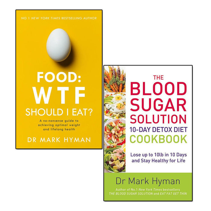 food wtf should i eat and blood sugar solution 10-day detox diet cookbook 2 books collection set - The Book Bundle