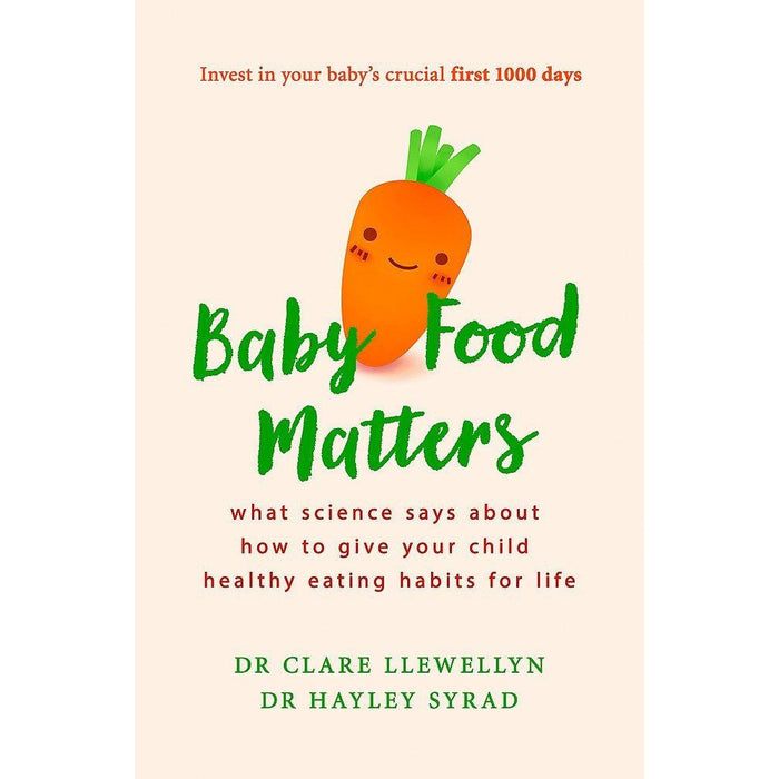 Baby led weaning cookbook [hardcover] and baby food matters 2 books collection set - The Book Bundle