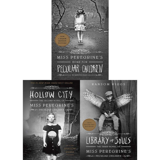 Miss Peregrine's Peculiar Children by Ransom Riggs 3 Books Collection set NEW - The Book Bundle