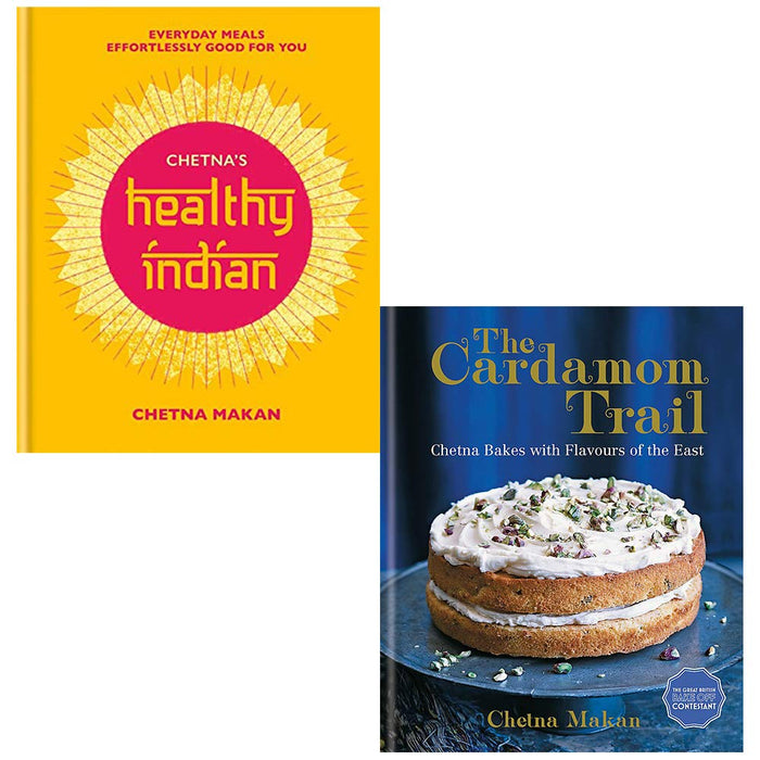 Chetnas Healthy Indian, The Cardamom Trail 2 Books Collection Set by Chetna Makan - The Book Bundle