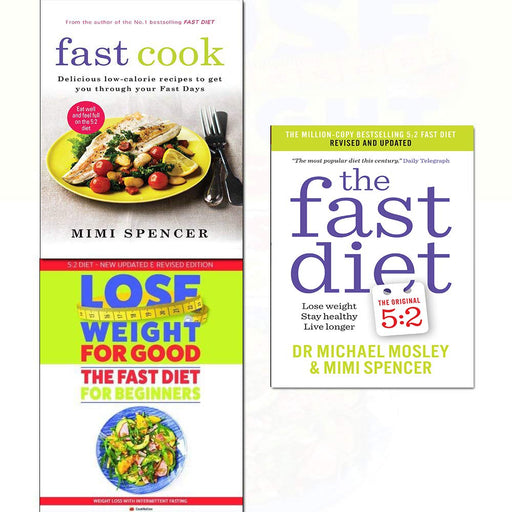 Fast cook,diet and how to lose weight for good for beginners 3 books collection set - The Book Bundle