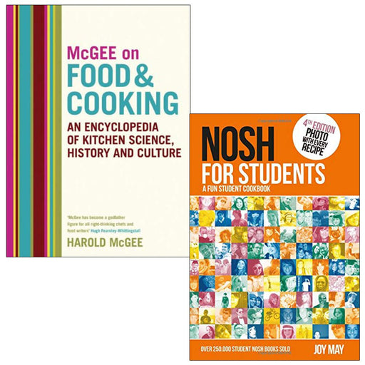McGee on Food and Cooking & Nosh for Students  2 Books Collection Set - The Book Bundle