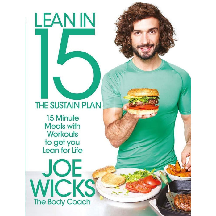 The 4-Week Body Blitz, Lean in 15 The Sustain Plan 2 Books Collection Set - The Book Bundle