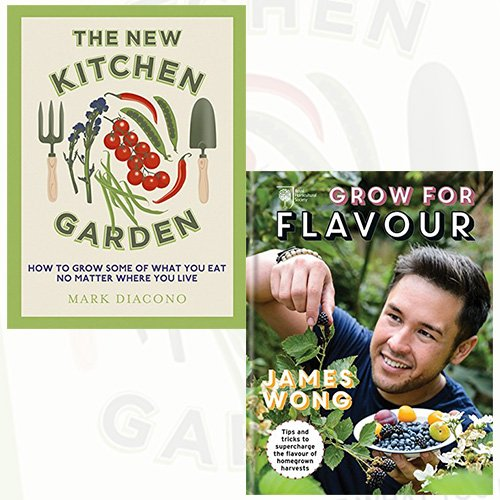 New Kitchen Garden and RHS Grow for Flavour 2 Books Bundle Collection - How to Grow Some of What  & tricks to supercharge the flavour - The Book Bundle