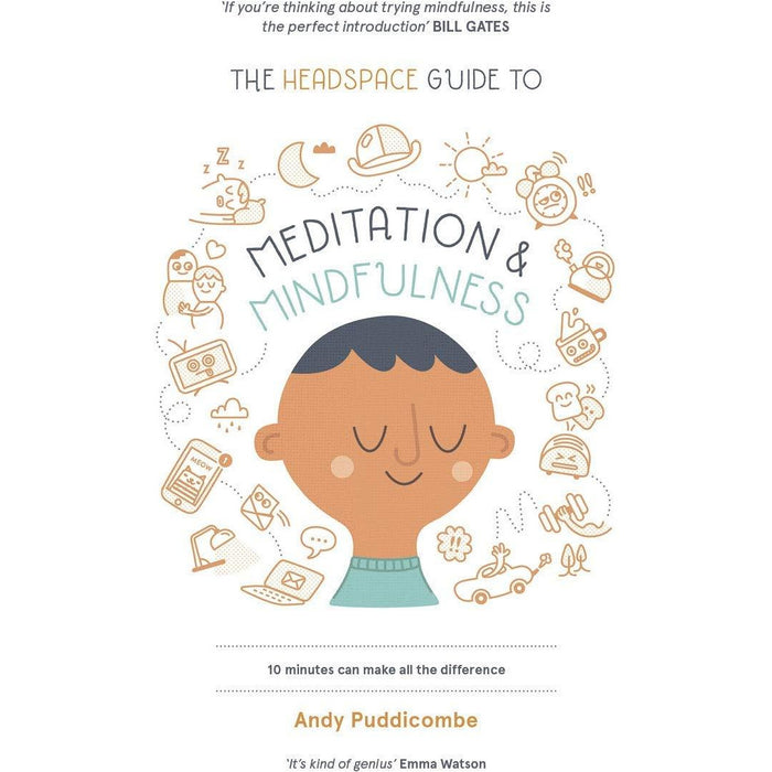 Stress Solution, Headspace Guide To Meditation And Mindfulness, Meditation For Fidgety Skeptics, 10% Happier 4 Books Collection Set - The Book Bundle