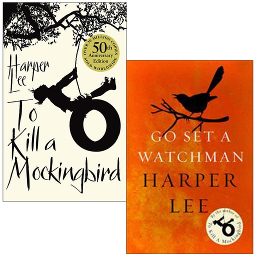 Harper Lee Collection 2 Books Set (To Kill A Mockingbird, Go Set a Watchman) - The Book Bundle