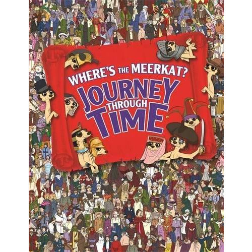 Where's The Meerkat? Journey Through Time - The Book Bundle