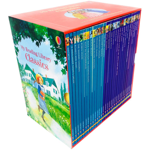 Usborne My Reading Library Classics 30 Books Box Set Collection - The Book Bundle
