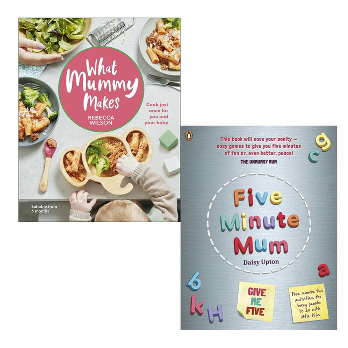 What Mummy Makes & Five Minute Mum 2 Books Collection Set - The Book Bundle