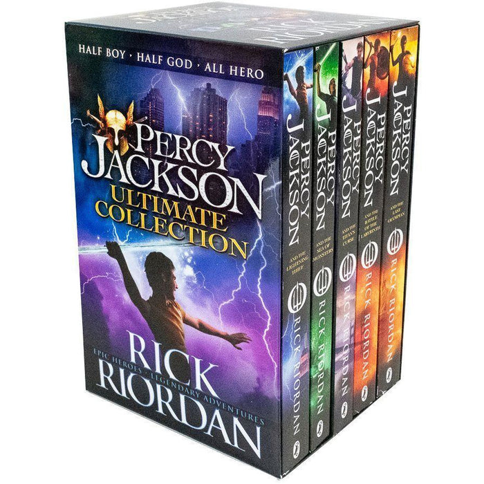Percy Jackson Book Collection - 5 Books Box Set - The Book Bundle