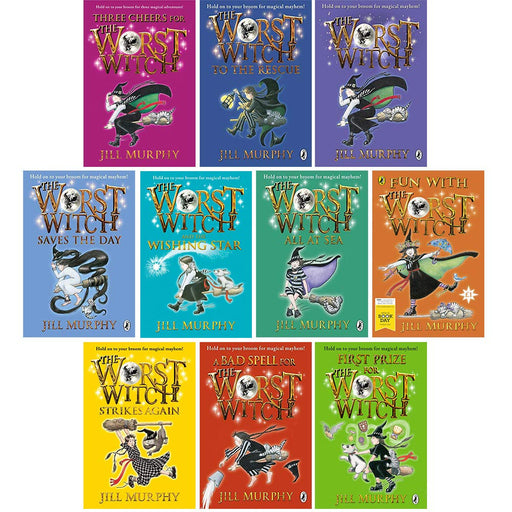 Worst witch series 10 books collection set by jill murphy - The Book Bundle
