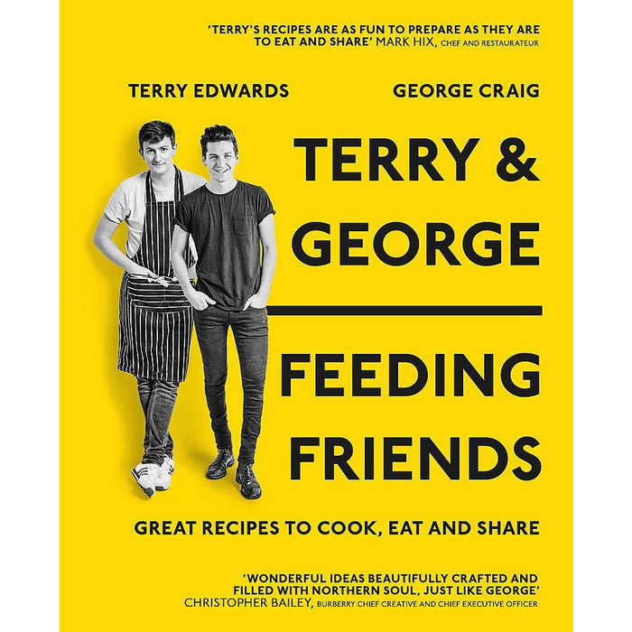 Terry & George - Feeding Friends: Great Recipes to Cook, Eat and Share - The Book Bundle