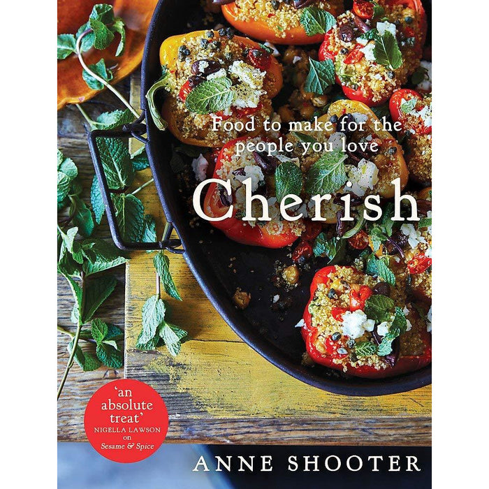 Cherish: Food to make for the people you love By Anne Shooter & Higgidy The Cookbook By Camilla Stephens 2 Books Collection Set - The Book Bundle