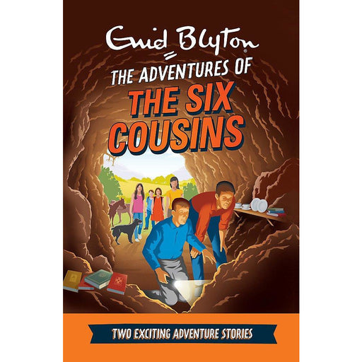 The Adventures of the Six Cousins: Two Exciting Adventure Stories (Enid Blyton: Adventure Collection) - The Book Bundle