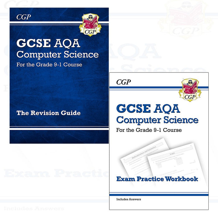 New GCSE Computer Science AQA Revision And AQA Exam 2 Books Collection Set - The Book Bundle