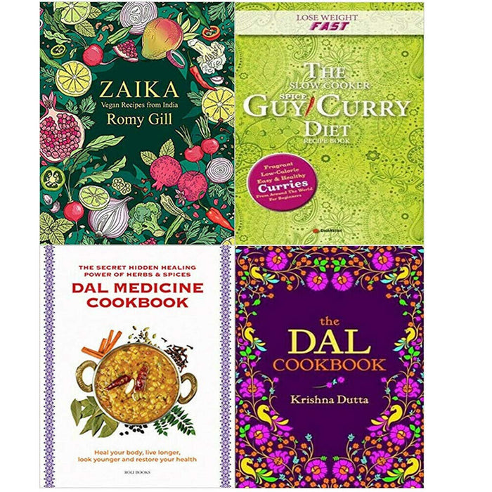 Zaika, Lose Weight , Dal Medicine, The Dal 4 Books Collection Set - The Book Bundle