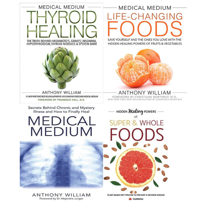 medical medium anthony williams collection 4 books set - The Book Bundle