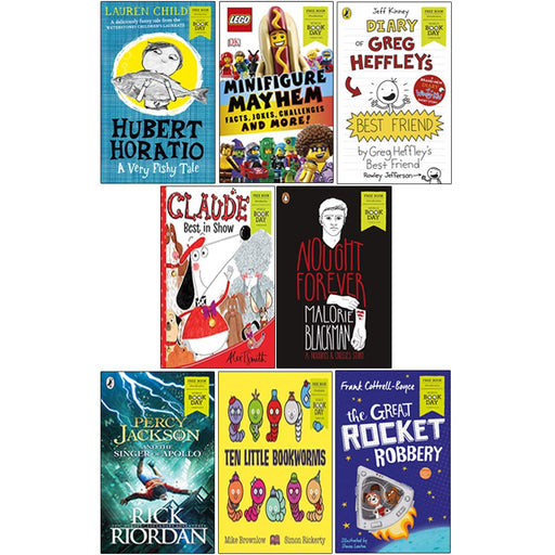 World Book Day 2019 - 8 Books Collection Set - The Book Bundle