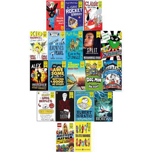 World Book Day 2020 & 2019 Collection 19 Books Set Children's pack Bing, Dog Man, Supertato - The Book Bundle