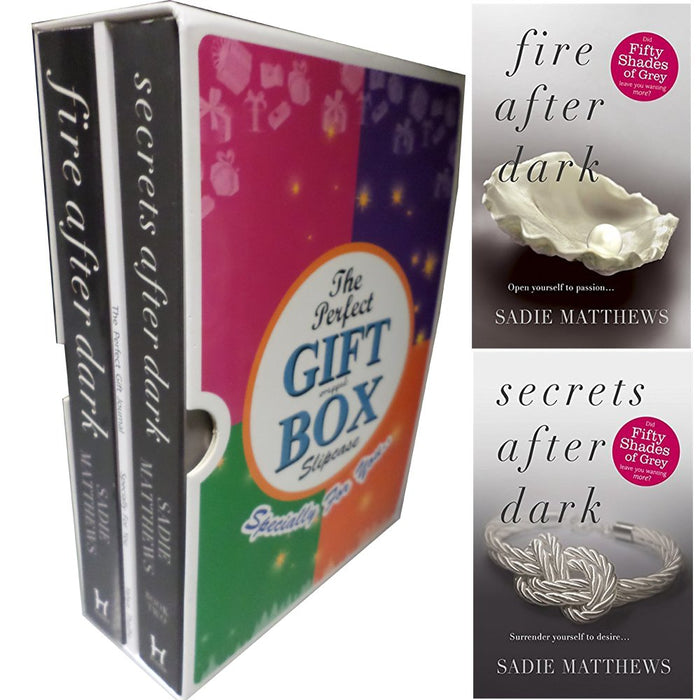 After Dark Sadie Matthews Collection 2 Books Bundle Gift Wrapped Slipcase Specially For You - The Book Bundle