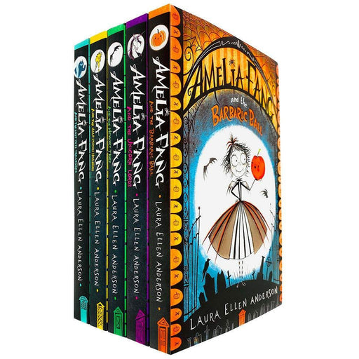 Amelia Fang Series 5 Books Collection Set by Laura Ellen Anderson (Barbaric Ball, Unicorn Lords) - The Book Bundle