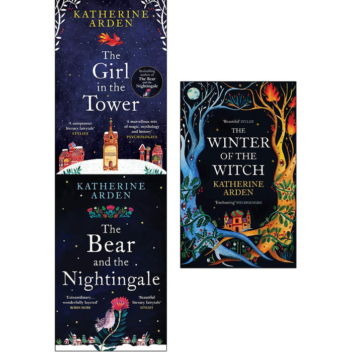 Winternight trilogy 3 books collection set by katherine arden - The Book Bundle