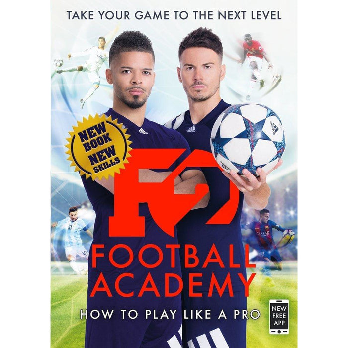F2 football academy [flexibound], galaxy of football [hardcover] and world of football 3 books collection set - The Book Bundle