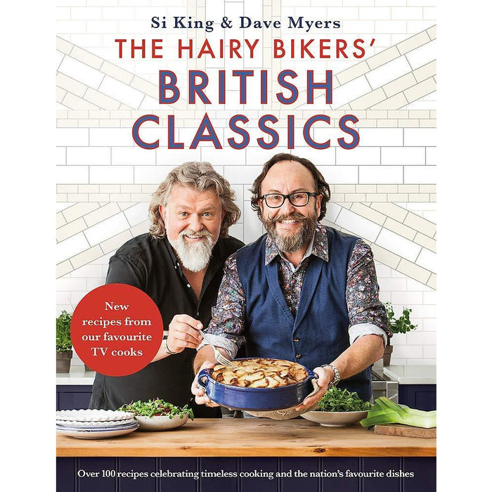 The Hairy Bikers' British Classics [Hardcover], The Hairy Dieters Go Veggie, The Hairy Dieters Make It Easy 3 Books Collection Set - The Book Bundle