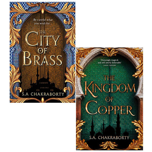 The Daevabad Trilogy 2 Books Collection Set by S. A. Chakraborty (The City of Brass [Paperback], The Kingdom of Copper [Paperback]) - The Book Bundle