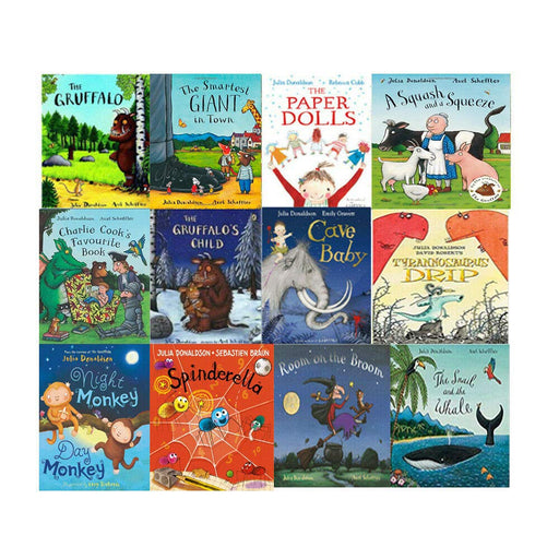 Julia Donaldson Collection 12 Books Set With BAG - The Book Bundle