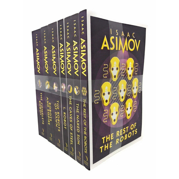 Isaac Asimov 7 Books Set Collection Pack Inc The Rest Of The Robots, I Robot - The Book Bundle