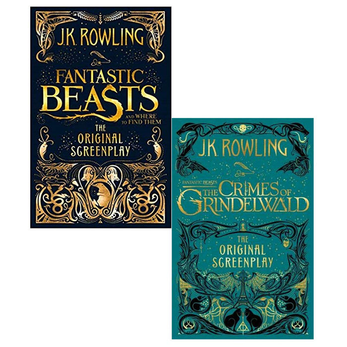 The Fantastic Beasts: The Original Screenplay Series 2 Books Collection Set - The Book Bundle