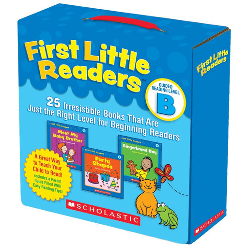 First Little Readers: Guided Reading Level B: 25 Irresistible Books That Are Just the Right Level for Beginning Readers - The Book Bundle